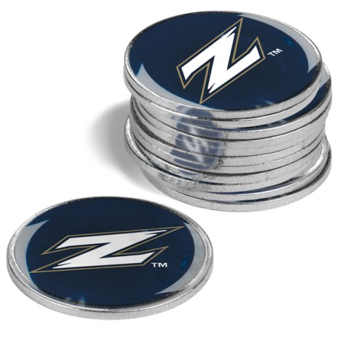 Akron Zips 12-Pack Golf Ball Markers