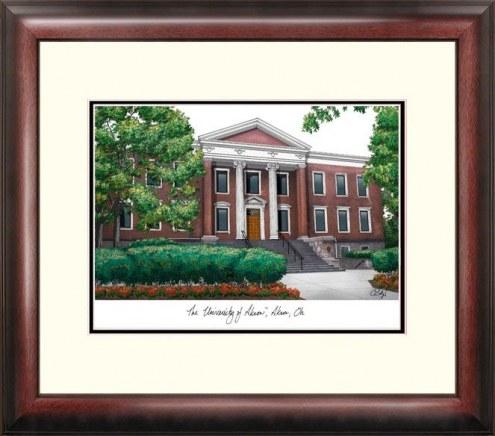 Akron Zips Alumnus Framed Lithograph