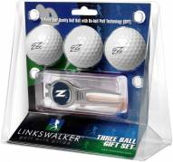 Akron Zips Golf Ball Gift Pack with Kool Tool