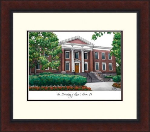 Akron Zips Legacy Alumnus Framed Lithograph