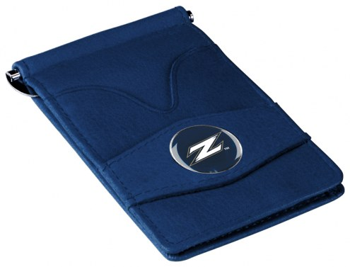 Akron Zips Navy Player's Wallet