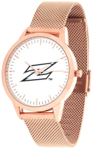 Akron Zips Rose Mesh Statement Watch