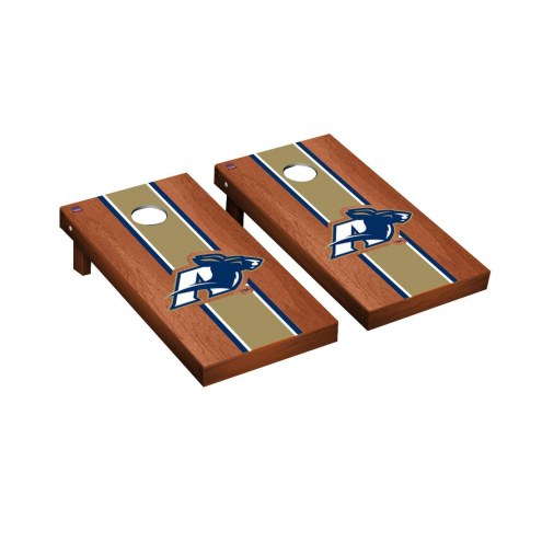 Akron Zips Rosewood Stained Cornhole Game Set