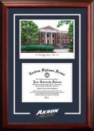 Akron Zips Spirit Graduate Diploma Frame