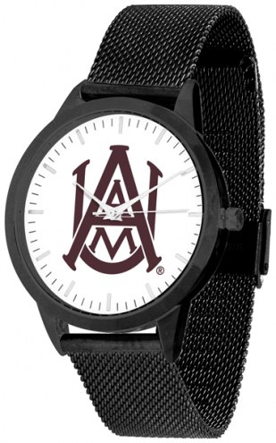 Alabama A&M Bulldogs Black Mesh Statement Watch