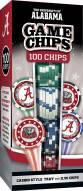 Alabama Crimson Tide 100 Piece Poker Chips