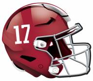 "Alabama Crimson Tide 12"" Helmet Sign"