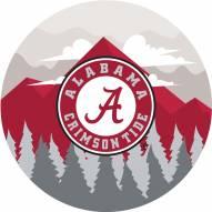 "Alabama Crimson Tide 12"" Landscape Circle Sign"