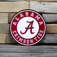 "Alabama Crimson Tide 12"" Steel Logo Sign"