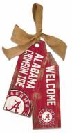 "Alabama Crimson Tide 12"" Team Tags"