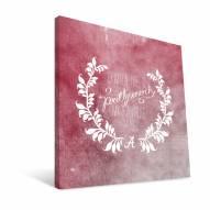 "Alabama Crimson Tide 12"" x 12"" Favorite Thing Canvas Print"