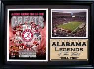 "Alabama Crimson Tide 12"" x 18"" Greats Photo Stat Frame"
