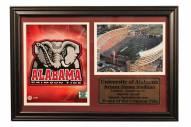 "Alabama Crimson Tide 12"" x 18"" Photo Stat Frame"
