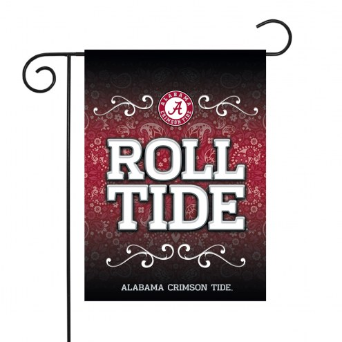 "Alabama Crimson Tide 13"" x 18"" Garden Flag"