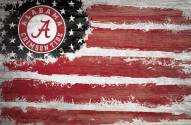 "Alabama Crimson Tide 17"" x 26"" Flag Sign"