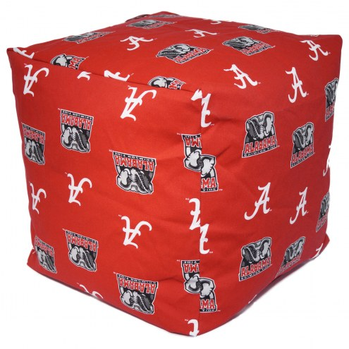 "Alabama Crimson Tide 18"" x 18"" Cube Cushion"