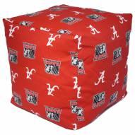 """Alabama Crimson Tide 18"""" x 18"""" Cube Cushion"""