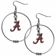 """Alabama Crimson Tide 2"""" Hoop Earrings"""