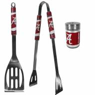 Alabama Crimson Tide 2 Piece BBQ Set with Season Shaker