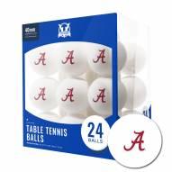 Alabama Crimson Tide 24 Count Ping Pong Balls