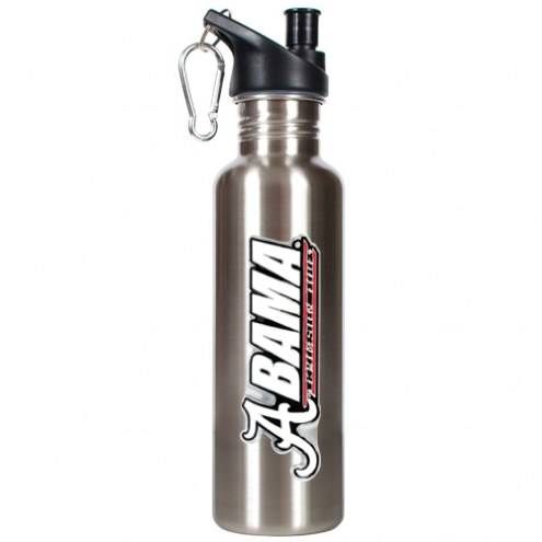 Alabama Crimson Tide 26 oz. Stainless Steel Water Bottle