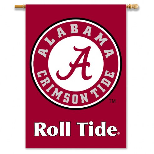 "Alabama Crimson Tide 28"" x 40"" NCAA Two-Sided Banner"