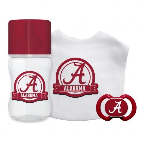 Alabama Crimson Tide 3-Piece Baby Gift Set