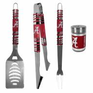 Alabama Crimson Tide 3 Piece Tailgater BBQ Set and Season Shaker