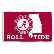 Alabama Crimson Tide 3' x 5' State Outline Flag