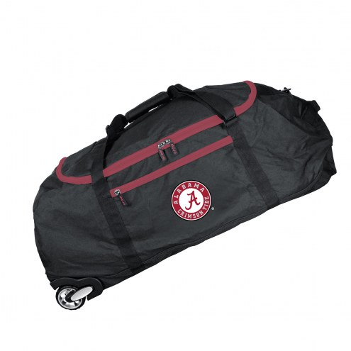 "Alabama Crimson Tide 36"" Checked-in Wheeled Duffel"