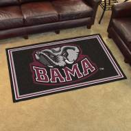 Alabama Crimson Tide 4' x 6' Area Rug