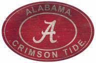 "Alabama Crimson Tide 46"" Heritage Logo Oval Sign"