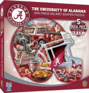 Alabama Crimson Tide 500 Piece Helmet Shaped Puzzle