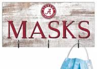 """Alabama Crimson Tide 6"""" x 12"""" Mask Holder"""