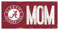 """Alabama Crimson Tide 6"""" x 12"""" Mom Sign"""