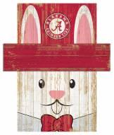 "Alabama Crimson Tide 6"" x 5"" Easter Bunny Head"