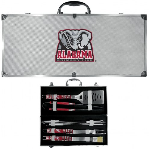 Alabama Crimson Tide 8 Piece Tailgater BBQ Set