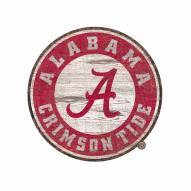 "Alabama Crimson Tide 8"" Team Logo Cutout Sign"