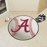 "Alabama Crimson Tide ""A"" Baseball Rug"