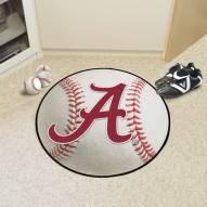 "Alabama Crimson Tide ""A"" Baseball Rug"