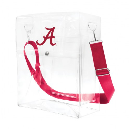 Alabama Crimson Tide Clear Ticket Satchel
