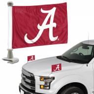 Alabama Crimson Tide Ambassador Hood & Trunk Car Flag