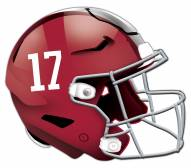 Alabama Crimson Tide Authentic Helmet Cutout Sign