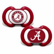 Alabama Crimson Tide Baby Pacifier 2-Pack