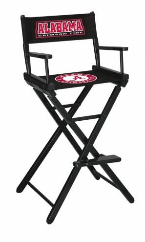 Alabama Crimson Tide Bar Height Director's Chair