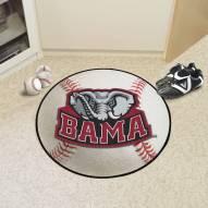 Alabama Crimson Tide Baseball Rug