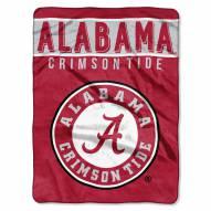 Alabama Crimson Tide Basic Raschel Blanket