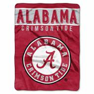 Alabama Crimson Tide Basic Raschel Blanket