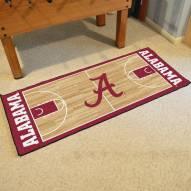 Alabama Crimson Tide Basketball Court Runner Rug