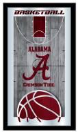 Alabama Crimson Tide Basketball Mirror